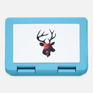 Funges Deer and Red Mushroom - Lunchbox