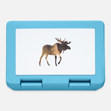 Funges Moose and Mushroom - Lunchbox