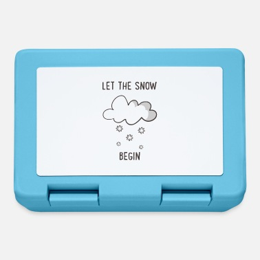 Snow snow - Lunchbox