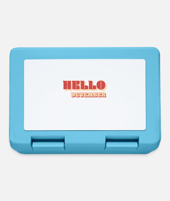 ARA Lunchboxes - Hello December - Lunchbox sapphire blue