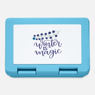 Winter is magic - Lunchbox