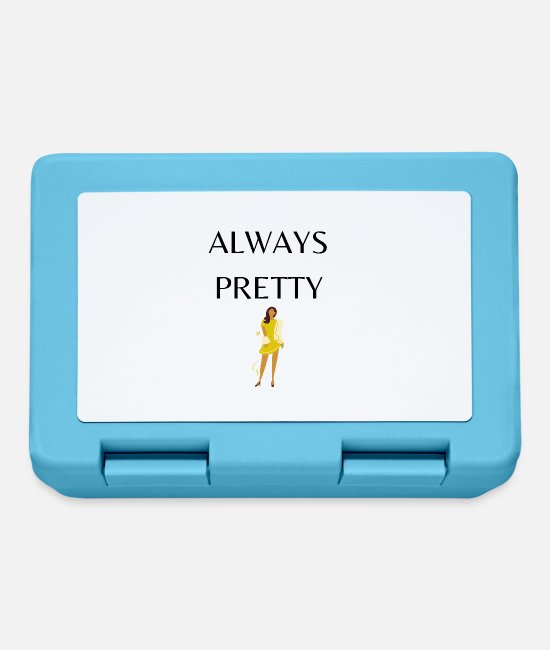 Heart Lunchboxes - ALWAYS PRETTY - Lunchbox sapphire blue