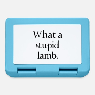 Cullen What a stupid lamb - Lunchbox