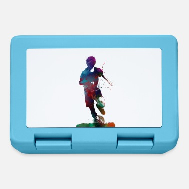 Baller football player 2 sport art - Lunchbox