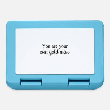 You are your own gold mine - Lunchbox