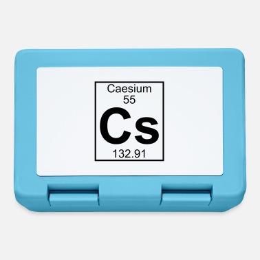 Cs Caesium (Cs) (element 55) - Lunchbox