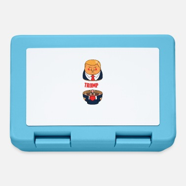 Demo Dimostrazione demo divertente del presidente Trump parodia - Lunch box