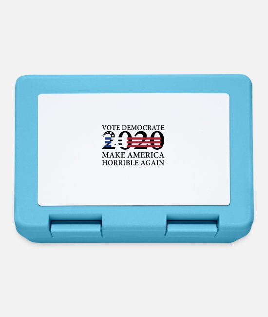 Usa Lunchboxes - Choose the Democrats - Lunchbox sapphire blue
