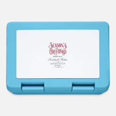 Seasons Greetings Seasons Greeting - We invite you to ... - Lunchbox
