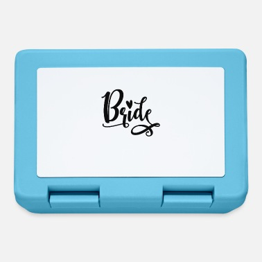 Bride And Groom Bride - Lunchbox