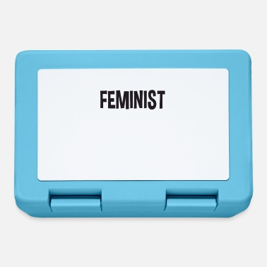 Super Woman FEMINIST woman power emancipation gift - Lunchbox