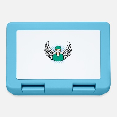 Funny doctor doctor angel systemic gift - Lunchbox