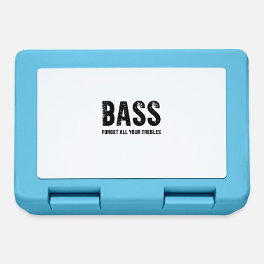 Bass Bass bass player electric bass Ebass - Lunchbox