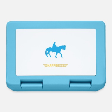 You ride a horse for instant happiness - Lunchbox
