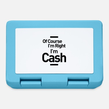 Cash Cow Cash Personalized Name Birthday Gift - Lunchbox