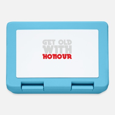 Honor to grow old with honor - man of honor, wife of honor - Lunchbox