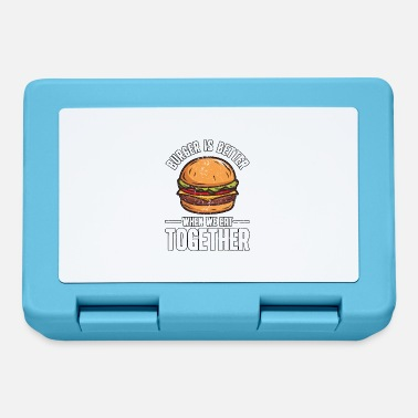 Fame Divertente fast food hamburger hamburger cheeseburger - Lunch box