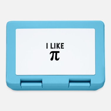 Cute I like pi - Lunchbox