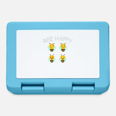 Bee Happy Cute Bee For Kids For Women For Men Be H - Lunchbox