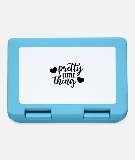 Movie Lunchboxes - Pretty little thing - Lunchbox sapphire blue