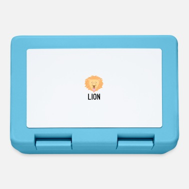 Crittercontest Lion black lettering sign crittercontest - Lunchbox