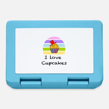 Trend I love cake / cupcake / trend / sayings - Lunchbox