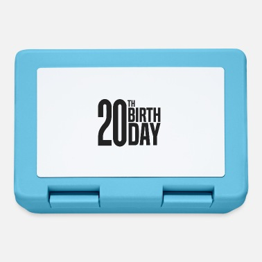 20th 20th Birthday - Lunchbox