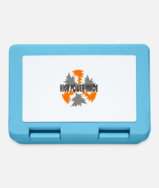 Power Ballads Lunchboxes - HIGH POWER - Lunchbox sapphire blue