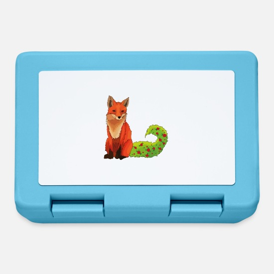 Animali Lunch boxes - Finn la volpe - Lunch box blu zaffiro