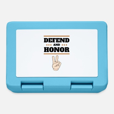 Honor DEFEND AND HONOR - Lunchbox