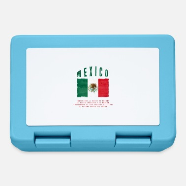 Bandera Mexican Flag Bandera Mexico - Lunchbox