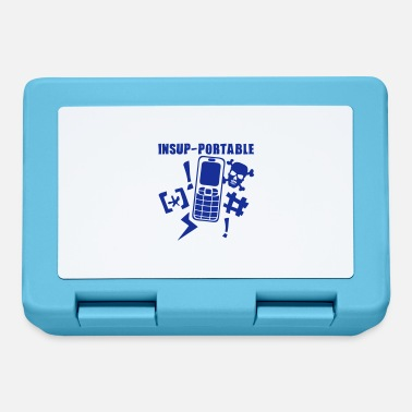 Mobile Phone unbearable mobile phone phone - Lunchbox