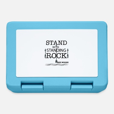 Stand STAND WITH STANDING ROCK - Lunchbox