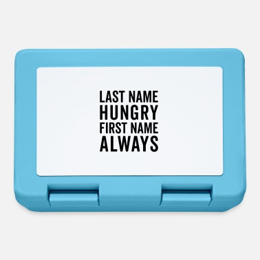 Hungry Last Name Hungry Funny Quote - Lunchbox