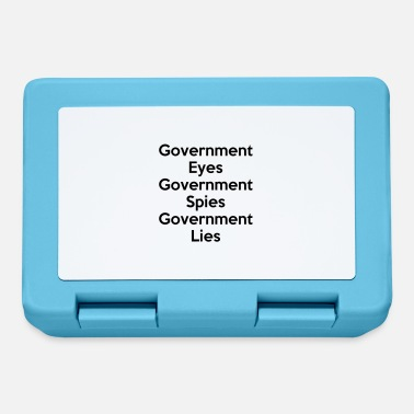 Government Government Eyes, Government Spies, Government Lies - Lunchbox