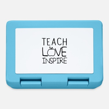 Teaching Teach Love Inspire - Lunchbox