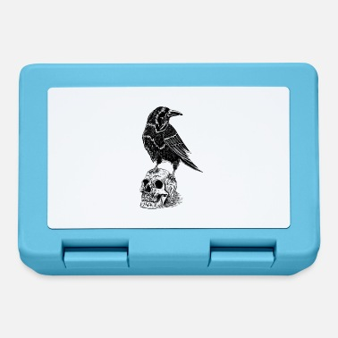 Raven and skull - Lunchbox