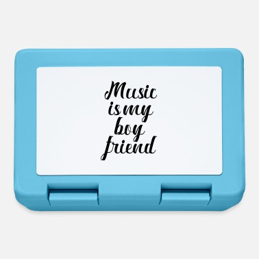 Musical Music is my friend - Lunchbox