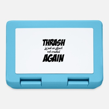 Thrash THRASH ANCORA - Lunch box