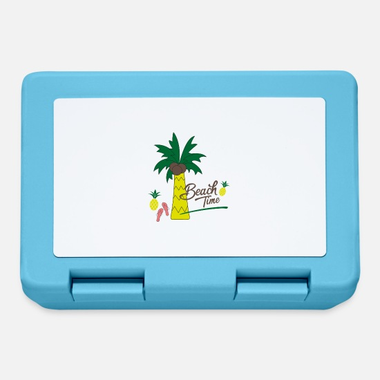Summer Lunchboxes - Beach vacation - Lunchbox sapphire blue