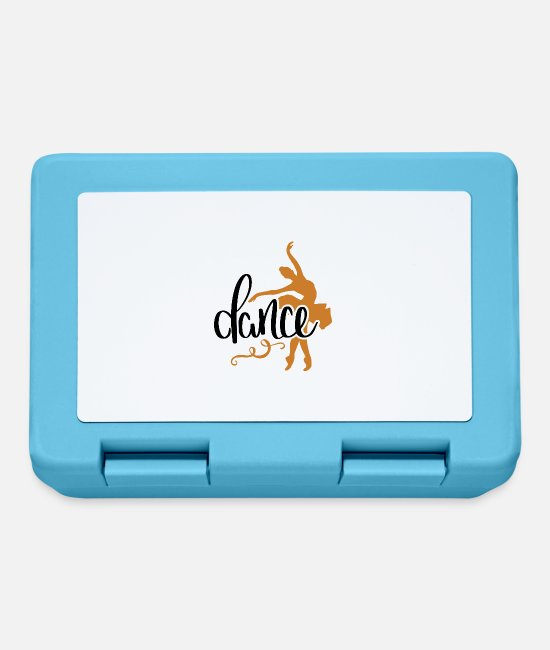 Dance Lunchboxes - Dance - Lunchbox sapphire blue