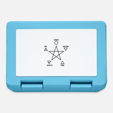 Four Elements Pentagram, elements, spirit, magic icon - Madkasse
