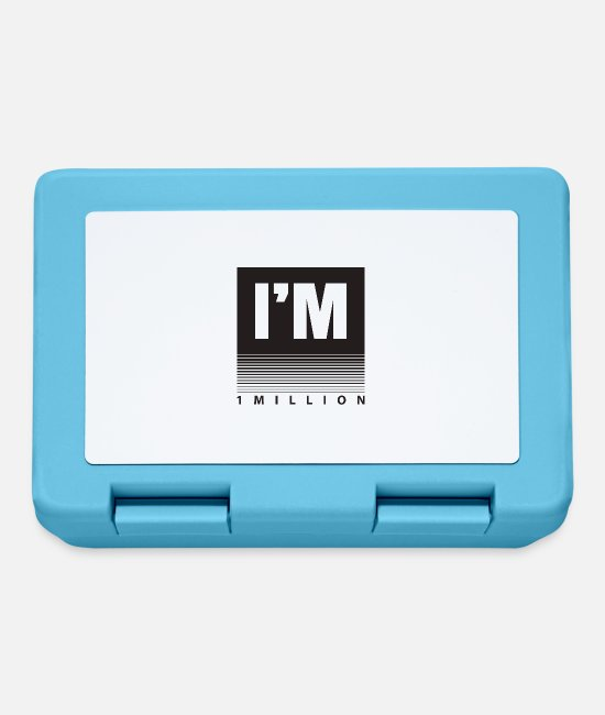 Youtube Lunchboxes - 1 Million - Lunchbox sapphire blue
