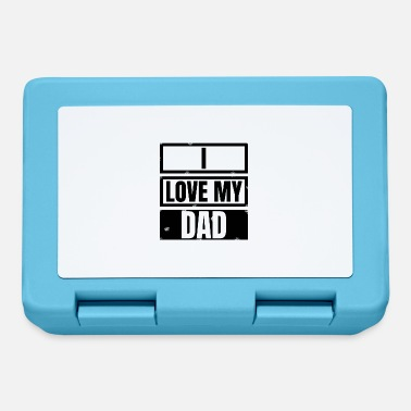 Parent family - I love my dad - Lunchbox