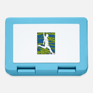 International International soccer - Lunchbox