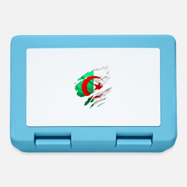 Country Flag Football Sport And Arab Art Jesus africa algéria country - Lunchbox