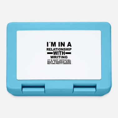 Writing relationship with WRITING - Lunchbox