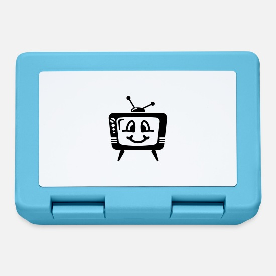 Tv Lunchboxes - TV - Lunchbox sapphire blue