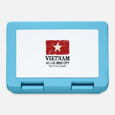 Ho Chi Minh Vietnam Vintage Flag - Lunch box