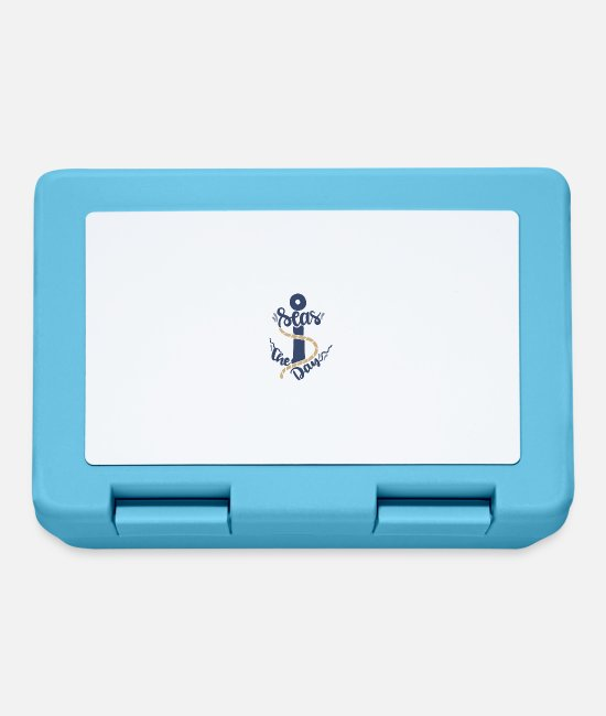 Sail Boat Lunchboxes - Seas the day - Lunchbox sapphire blue
